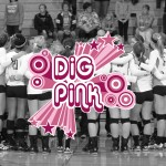 Gustavus will host Northwestern in its annual Dig Pink match on Tuesday night.