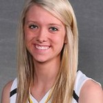Abby Rothenbuehler led the Gusties with her second double-double of the season after scoring a game-high 15 points and bring down a game-high 10 rebounds.