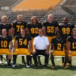 The 2012 Gustavus football seniors.  Photo courtesy of Sport PiX.