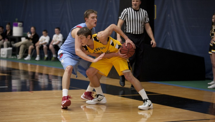 Jordan Dick poured in a career-high 10 points in Saturday's loss (photo courtesy of Andrew Vold `14)
