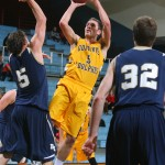 Jim Hill led the way with 13 points and five rebounds for the Gusties. (Photo courtesy of A.J. Dahm - Sport Pix Photography)