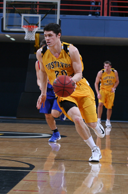 Ben Biewen led the Gusties with 19 points and eight rebounds.