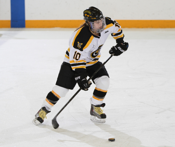 Courtney Boucher registered a goal and an assist in the win.