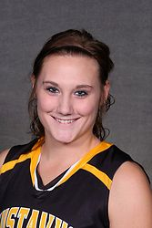 Karina Schroeder led all scorers with 18 points on Saturday afternoon against St. Catherine.