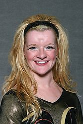 Paige Dieleman recorded Gustavus' top mark of the night with a third place finish on the balance beam.
