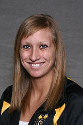 Alissa Tinklenberg broke the Carleton pool record in the 200 backstroke in Gustavus' dual win over Carleton on Friday night.