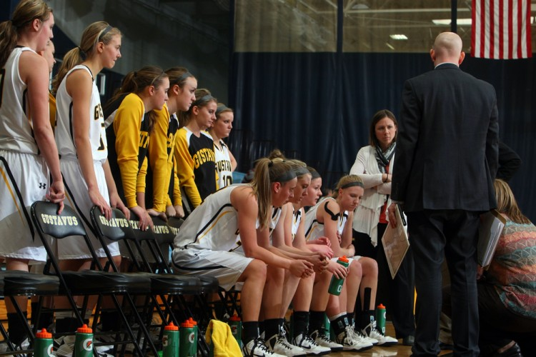 The Gustavus women's basketball team will look to get back on track Saturday against St. Catherine.
