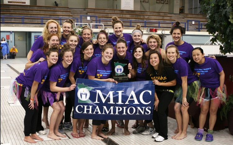 The 2013 MIAC Champion Golden Gusties. Photo courtesy of Kim Hagemeyer.