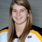 Courtney Boucher sparked the Gusties with a goal in the first period.