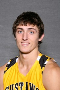 Jordan Dick was the lone Gustie to score in double-figures with 13 points.