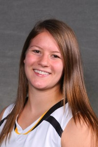 Julia Dysthe led the Gusties in scoring with 14 points while also bringing down five rebounds.