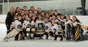 2012-13 MIAC women's hockey regular season champions.