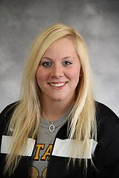 Mallory Shellum went captured three points on the weekend for the Gusties.