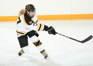 Hjelm is the second Gustie to receive the honor, following in the footsteps of Laura Vannelli in 2008.