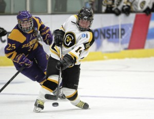 Junior Melissa Doyle (Photo courtesy of Dan Coquyt `14 - Gustavus Sports Information)
