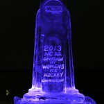 NCAA D3 Banquet Photo - Ice Sculpture