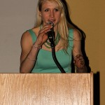 NCAA D3 Banquet Photo - Lindsey Hjelm Remarks, Gustavus