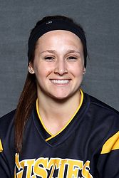Carly Klass led the Gusties at the plate on day one of the Central-Simpson Classic.  Klass went 4-for-6 with two RBI on the day.
