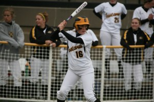 Kailey Morgan went a combined 4-for-5 at the plate against Hamline.