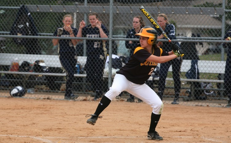Brittany Brenke went a combined 4-for-6 with two runs, two RBI, a walk, and a double against Bethel on Tuesday.