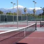 The Verdieck Courts at the University of Redlands.
