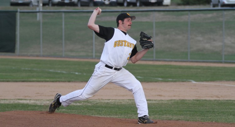 Connor Norris was rewarded the win on the hill in game two on Tuesday afternoon. (Photo courtesy of Dan Coquyt `14)