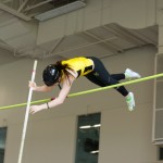 Allyson Voss won the pole vault for the second straight year on Saturday. Photo courtesy of Jeff Hunt.