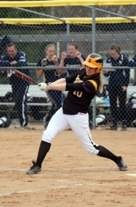 Rentschler finished third on the team in hitting this season with a batting average of .366.