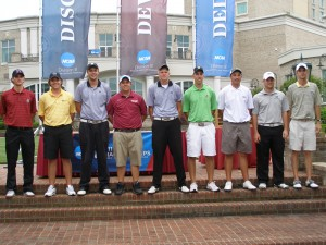 Alex Kolquist on the GCAA All-America Team in 2011.