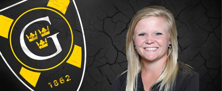 Sam Falk recorded Gustavus' best round of the day with a 76 (+5).