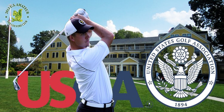 Gustavus golfer Tyler McMorrow competed in the 2013 U.S. Amateur Championship held August 12-18 at The Country Club in Brookline, Mass.