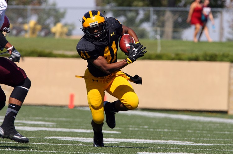 Senior running back Jeffrey Dubose earned a place on the honorable mention team as a part of the 2013 Preseason All-American Team released by the Collegiate Development Football League (CDFL).