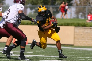 2012 All-MIAC First Team selection Jeffrey Dubose.