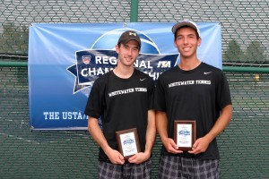 UW-Whitewater's Byron Balkin and Mitch Osborne won the doubles championship a year ago, defeating Amrik Donkena and Mya Smith-Dennis in the championship.