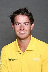 Matt Jensen led the Gusties on a rainy first round of the Saint John's Invitational on Saturday.