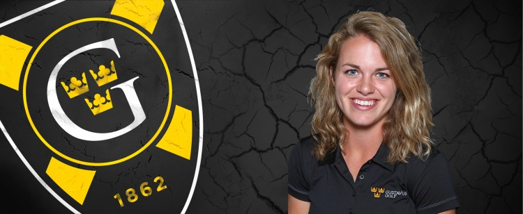 Liz Strom turned in the best round of the day for the Gusties with a 78 (+7).