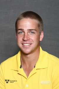 Tyler McMorrow led the Gusties with a two-over-par 74 on day one.  He currently sits in eighth alongside five other players.
