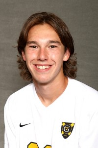 Konnor Tranoris scored the game-wining goal in the 85th minute to propel Gustavus past St. Thomas 1-0.