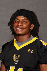 Jeffrey Dubose broke the Gustavus record for career total touchdowns on Saturday.