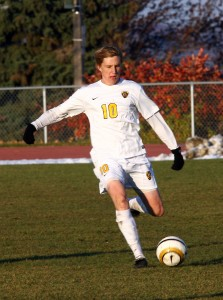 Junior midfielder David Lilly. Photo courtesy of Sport PiX.