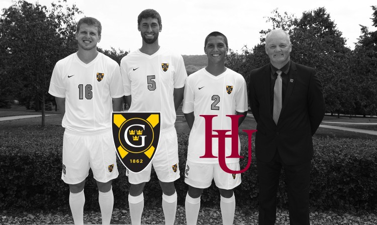 Gustavus seniors Casey Gilbert, Zach Schmith, and Sean Sendelbach will be honored as a part of Senior Day on Saturday against Hamline.