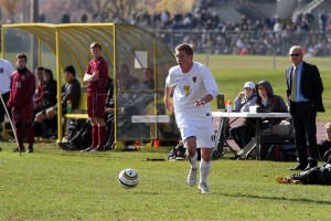 Ryan Tollefsrud scored the game-winning goal on Saturday against Hamline.