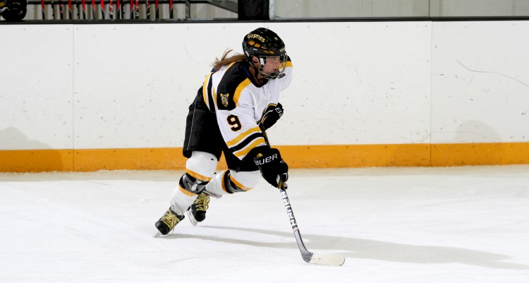 Amanda Cartony scored her first goal of the season in the 2-2 tie on Saturday.