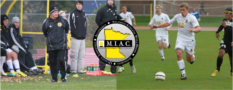 Gustavus Head Coach Mike Middleton was named the MIAC Coach-of-the-Year, while junior forward Zach Brown was named the Player-of-the-Year.