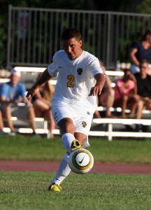 Senior midfielder Sean Sendelbach. Photo courtesy of Sport PiX.