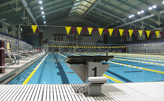 The Jean Freeman Invite is being held at the University of Minnesota Aquatic Center over the weekend.