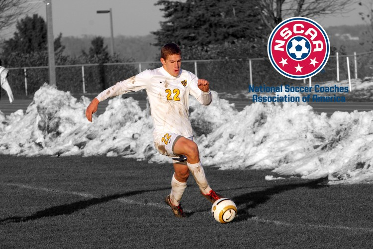 Zach Brown earns NSCAA All-America honors.