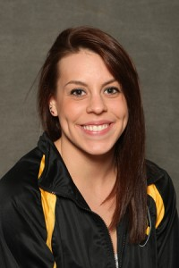 Danielle Klunk broke the Luther pool record in both the 100 butterfly and 100 free on Saturday at the Norse Sprint Invite.