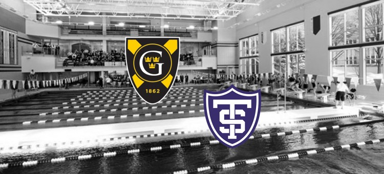 The Gustavus men's and women's swimming & diving teams will compete at the Aquatic Center on the campus of St. Thomas in a dual with the league-foe.
