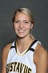Lindsey Johnson led Gustavus in scoring with a season-high 18 points.